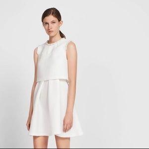 Sandro pearl embellished dress size 3/US8/EU40
